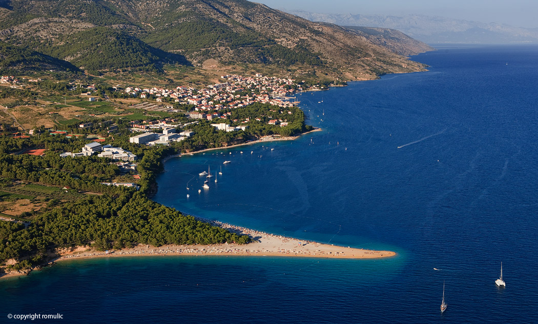 Island Brač, Croatia - Bol, Golden cape beach