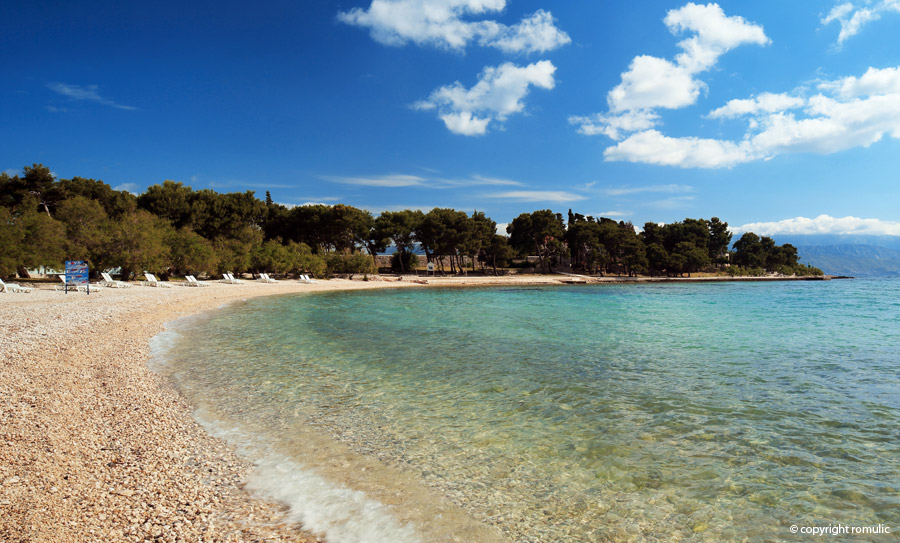 Supetar on island bra in croatia for a perfect holiday