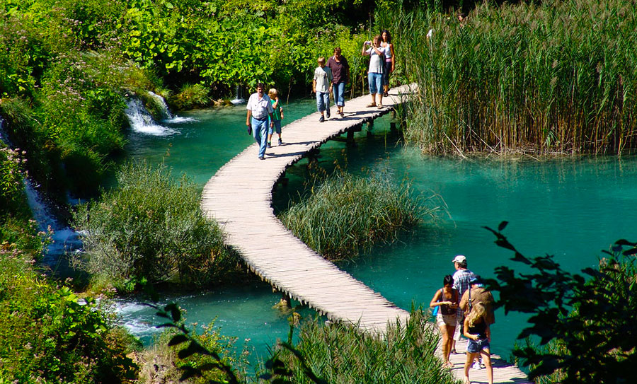 Excursion To Plitvice Lakes On Holidays In Croatia