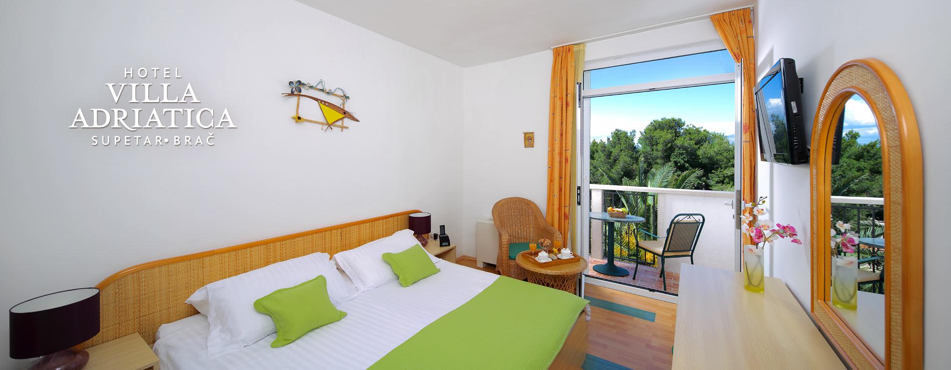Hotel Villa Adriatica, Accommodation
